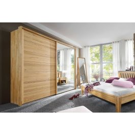 schwebet renschrank jupiter kernbuche oder wildeiche massiv holz spiegel kombination. Black Bedroom Furniture Sets. Home Design Ideas