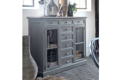 Highboard Royal 10032 im Landhausstil, von Canett