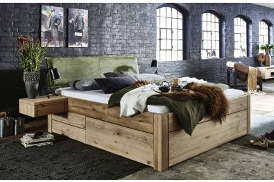 Schubkastenbett Kiefer massiv, Modell Easy sleep