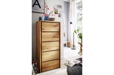 Kommode Highboard, Wildeiche massiv