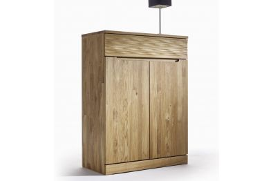 Highboard Kernbuche oder Wildeiche massiv