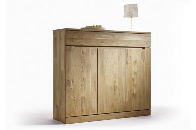Highboard Kernbuche oer Wildeiche massiv - 6624 von Gradel
