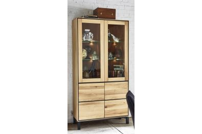 Highboard Wildeiche massiv, Extreme von Bodahl