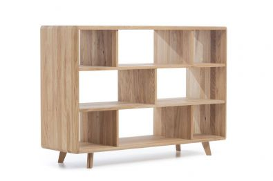 Highboard Wildeiche massiv Bianco