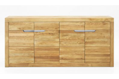 Highboard aus massiver Eiche