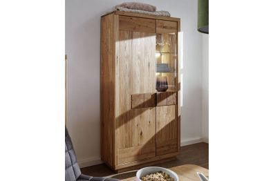 Highboard 501 Wildeiche massiv