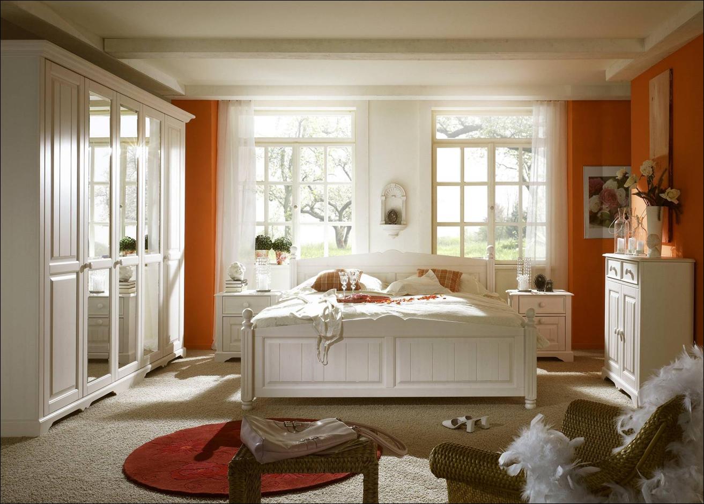 Schlafzimmer zum Selberplanen, Kiefer Landhaus, weiss, Modell PISA