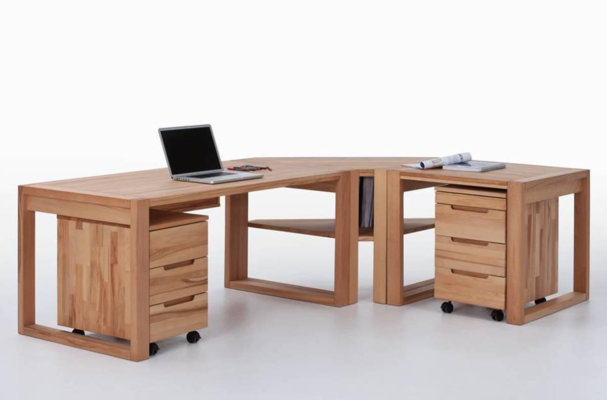 Schreibtisch Buche Massiv 2021